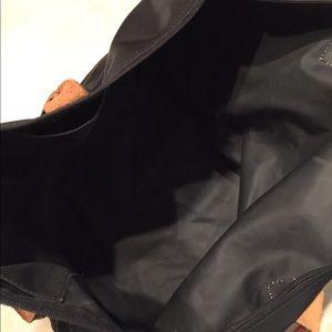 Longchamp Bags - Black Longchamp Tote